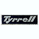 1/20 Tyrrell P34 Name Plate Small