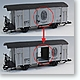 G-Gauge Freight Car (Boxcar) Red (for AMC51041 Europe SL engine)