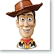 Toy Story 3 Real Mask Magnet Collection: 1 Box (6pcs)