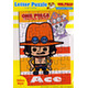 One Piece Panson Works Letter Puzzle/ Ace 30pcs