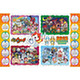 Youkai Watch/ 2015 Calendar Jigsaw 500pcs