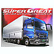1/32 Mitsubishi Fuso 2007 Super Great Air-Suspension Ty