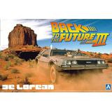 1/24 Back to the Future DeLorean Part III & Railroad