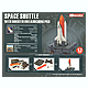 1/450 Space Shuttle with Booster on Launching Pad 4D Puzzle