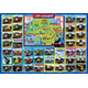 Picture Puzzle: Thomas & Friends Map of Sodor 35pcs (375mm x 260mm)