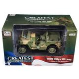 1/18 1941 Jeep Willys in Army Medic Camo Auto World Military Series