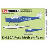 1/72 DH.80A Puss Moth on floats