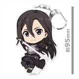 Sword Art Online: Puni Colle! Keychain (with Stand) Kirito [Phantom Bullet]