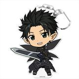 Sword Art Online: Puni Colle! Keychain (with Stand) Kirito [Fairy Dance]