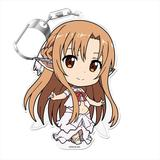 Sword Art Online: Puni Colle! Keychain (with Stand) Asuna (Titania) [Fairy Dance]
