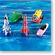 Thunderbirds Real Mecha Collection 1 Box (10pcs)