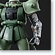 1/100 MG MS-06J Zaku II Ver. 2.0 with Special Clear Armor Parts