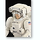 1/10 ISS Space Suit Extravehicular Mobility Unit