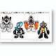 The Kamen Riders #8: 1 Box (10pcs)