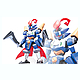 LBX Perseus & RS (Riding Saucer)