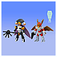 LBX Battle Custom LBX Nightmare & LBX Bibin Bird X