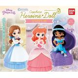 Capchara Heroine Doll Pastel Color Ver. (Belle, Ariel, Jasmine): 1 Box (4pcs)