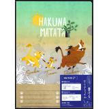 Writable Clear Folder The Lion King Hakuna Matata