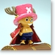 One Piece Figure & Bank: Chopper Red Mantle