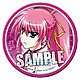 Nanoha The Movie 2nd A's Can Badge (Signum)
