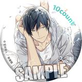 Ten Count: Trading Hologram Can Badge 1 Box 10pcs