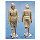 1/35 WWII Allied Female Soldier Set