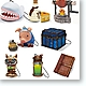 Monster Hunter Item Trading Mascot: 1 Box (9pcs)