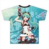 Racing Miku: 2020Ver. Full Graphic T-shirt Vol.1 (L Size)