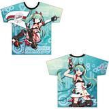 Racing Miku: 2020Ver. Full Graphic T-shirt Vol.1 (XL Size)
