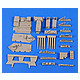 1/35 King Tiger Driver's Compartment Set (for Tamiya)