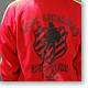 Char Aznable Custom Zip-Up Jersey Red L