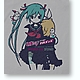 Miku Sings Halmens Color T-Shirt Light Gray L