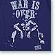Ace War is Over T-Shirt Night Blue L