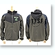 EFSF Nylon Jacket Black x Moss L
