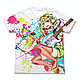 Megpoid 100% GUMI Full Graphic T-Shirt White XL
