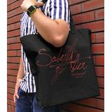 Fate/stay night: Heaven's Feel: Excalibur Morgan Large Tote Bag: Black