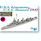 1/700 USS Livermore & USS Monssen 1942