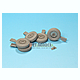 1/35 LRD Wolf WM1K Mich.235 Wheel Set Sagged (for Hobby Boss)
