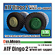 1/35 ATF Dingo 2 GE A2 PatSi Sagged Wheel Set (for Revell)