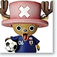 Bobbing Head Tony Tony Chopper Samurai Blue Soccer Japanese Varsity Team Ver.