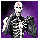 The Scull Star Real Figure PVC