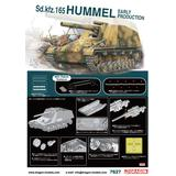 1/72 WW.II German Sd.Kfz.165 Hummel Early Version w/NEO Track