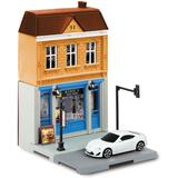 1/64 Fast Food Restaurant & Toyota 86 White