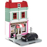 1/64 Ice Cream Parlor & Land Rover Range Rover Sport Black