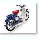 1/10 Honda Super Cub C100 Blue