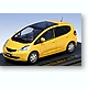 1/43 Honda Fit Sky Roof 2007 Yellow