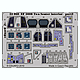 1/32 EF-2000 Two-seater Dashboard Photo-etch Set S.A. (for Trumpeter)