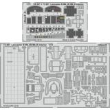1/72 Lancaster B Mk.I/B Mk.III Interior Photo-Etched Parts (for Airfix)