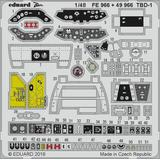 1/48 TBD-1 BIG ED Parts Set (for Great Wall Hobby)