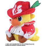 Chocobo's Mystery Dungeon: Every Buddy! Plush Toy (Chocobo Red Mage)